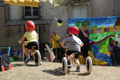 Fête de l'école le tour de France école Montessori Vernouillet