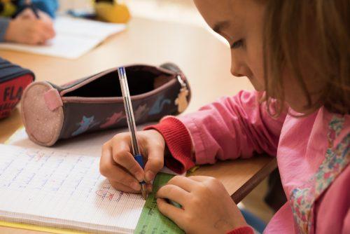 écriture école Montessori Vernouillet