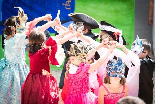 fête de l'école Venise école montessori vernouillet