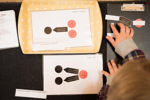 grammaire école Montessori Vernouillet