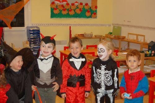 halloween à l'école montessori Vernouillet