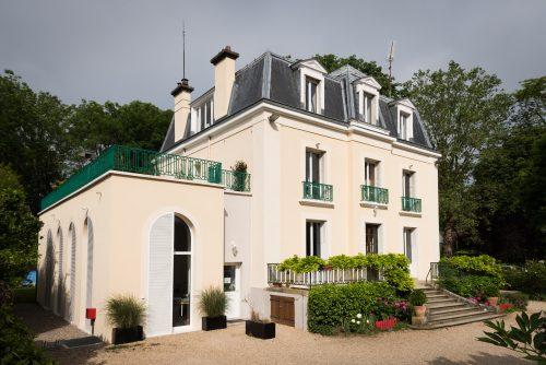le bâtiment de l'école Montessori Vernouillet