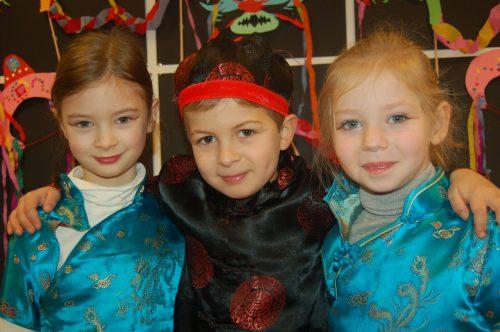 nouvel an chinois à l'école Montessori Vernouillet