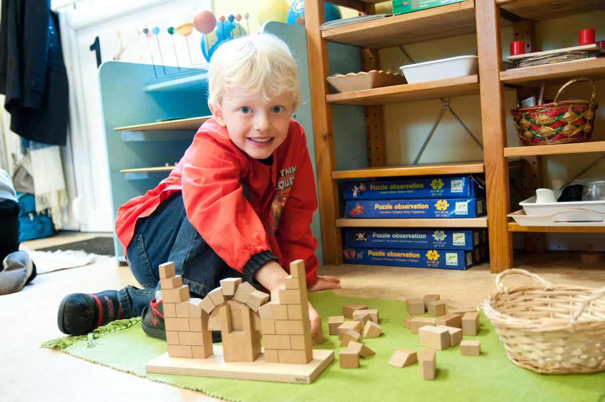élève maternelle école Montessori Vernouillet