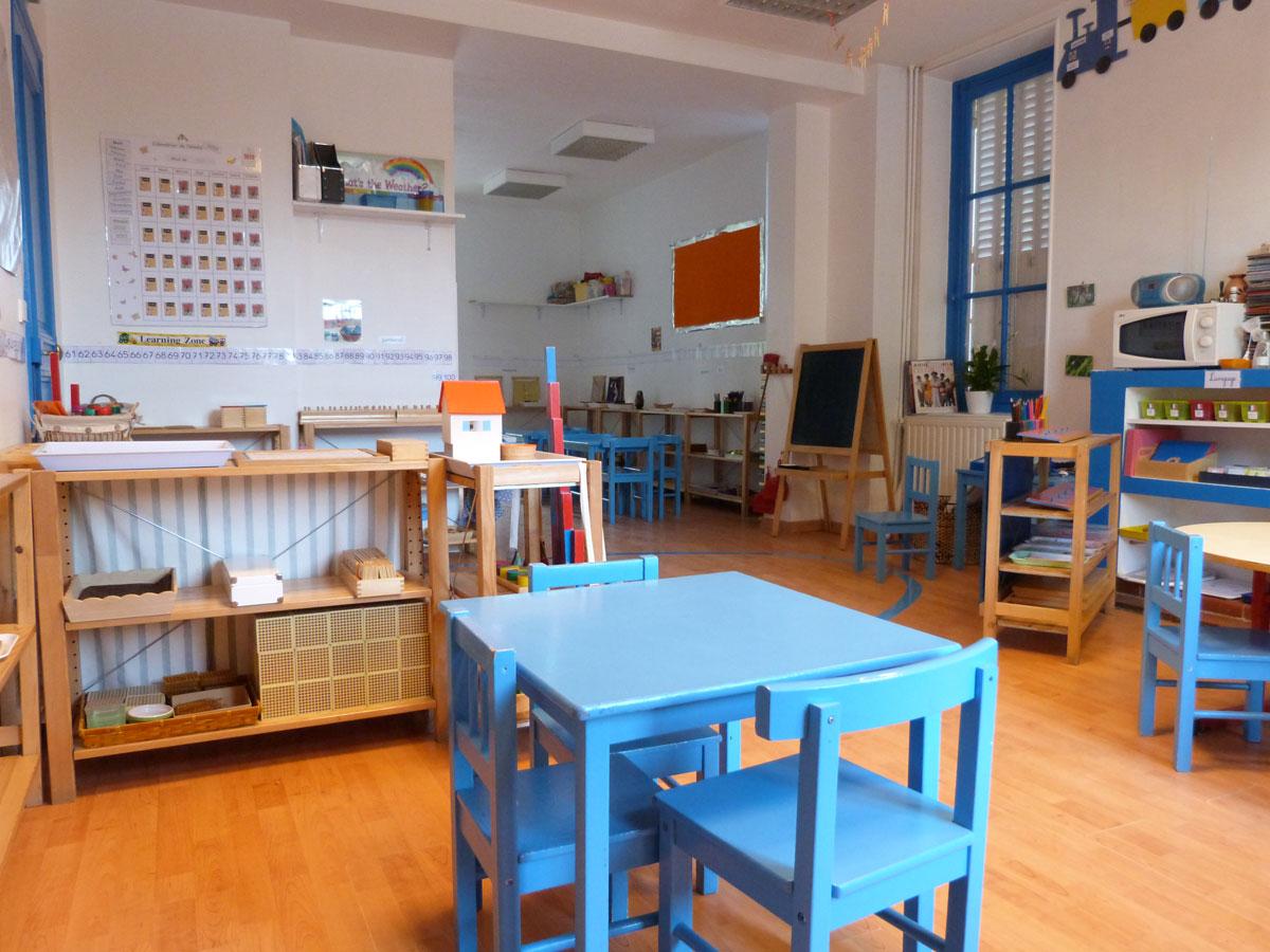 classe maternelle ecole montessori vernouillet