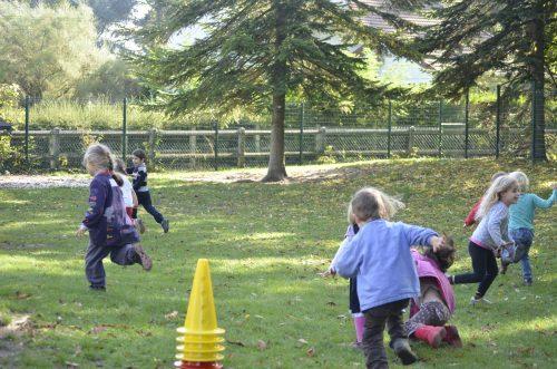 activités sportives à l'école Montessori Vernouillet